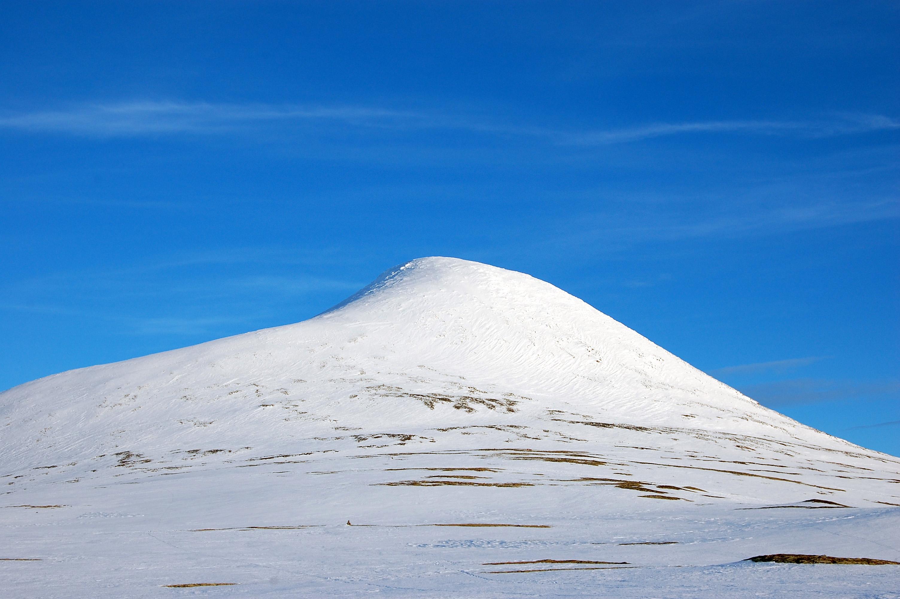 Elgpiggen sett fra nordvest. Foto: Jon Olav Volden